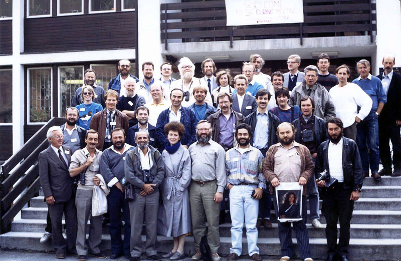 Attendees at EURING General Meeting 1990 in Hungary